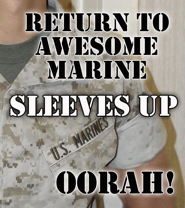 On March 9, 2014 the United States Marine Corps is returning to rolled sleeves after more than a two year hiatus for their summer uniform of desert digital camo.