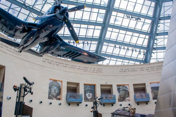Main Gallery of the Marine Corps Museum