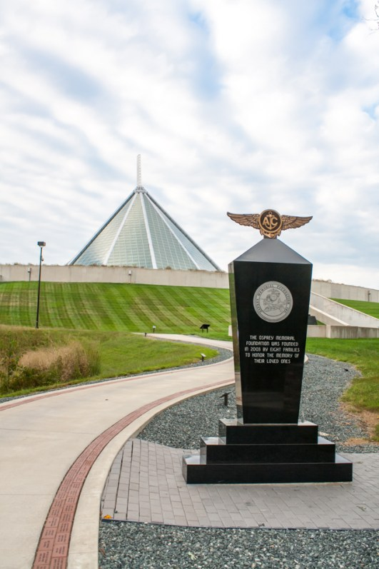 Memorial Walkway at the US Marine Museum