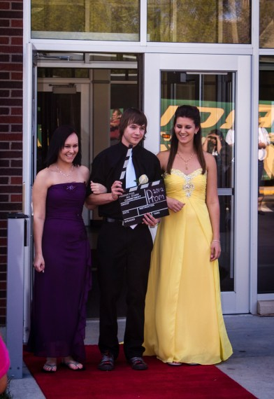Red Carpet Walk at Prom 2012
