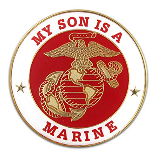 U.S. Marine Corps USMC Son Military Lapel Pin