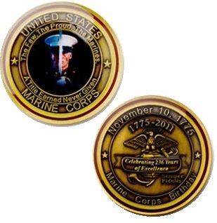 U.S. Marine Corps 2011 Marine Birthday Challenge Coin
