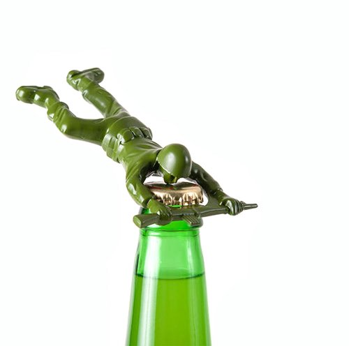 Army soldier bottle opener