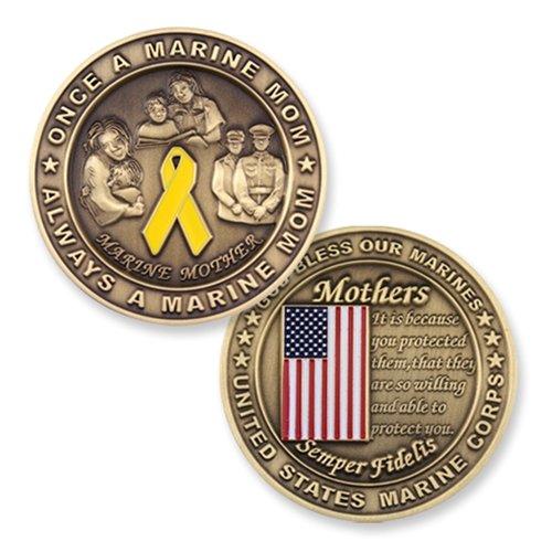 U.S. Marine Corps Mom Challenge Coin