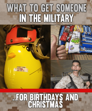 Military Gift ideas for Marines, soldiers and anyone in the Armed Forces