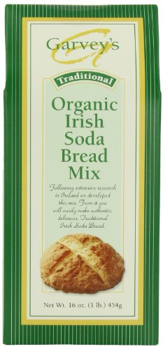 Garvey's Organic Traditional Irish Soda Bread Mix, 16-Ounce Boxes (Pack of 5)