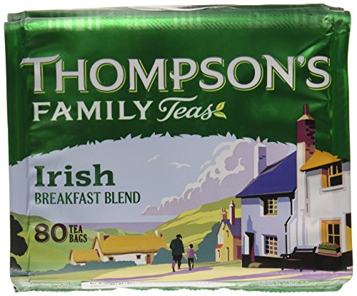 Thompson's Punjana Irish Breakfast 80 teabags (8.82oz) x 1 pack