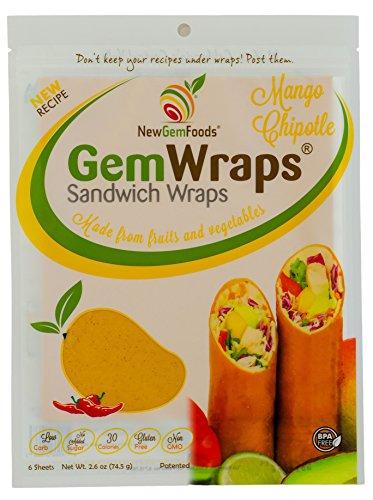 GemWraps® Mango Chipotle Sandwich Wrap 6-sheets