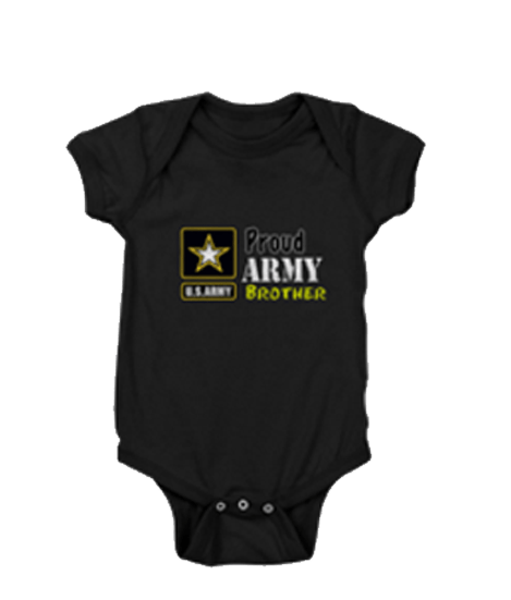 Proud Army Brother baby outfit