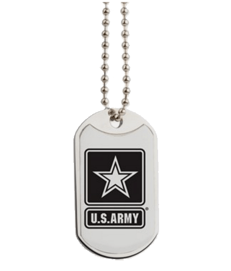 Army dog tags, great gift for families and kids