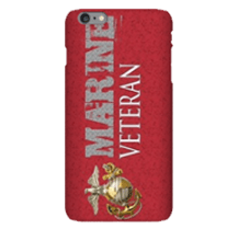 Marine Corps Veteran cell phone case