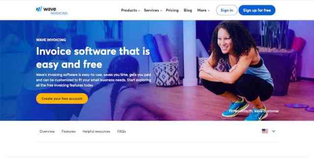Wave: powerful invoicing software