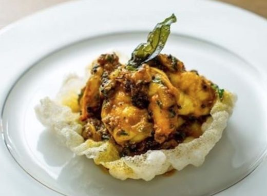 kq shrimp chettinad