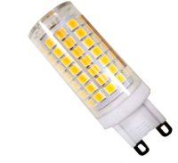 G9 7W LED Bulb Dimmable Replace 60W Halogen - PURE WHITE