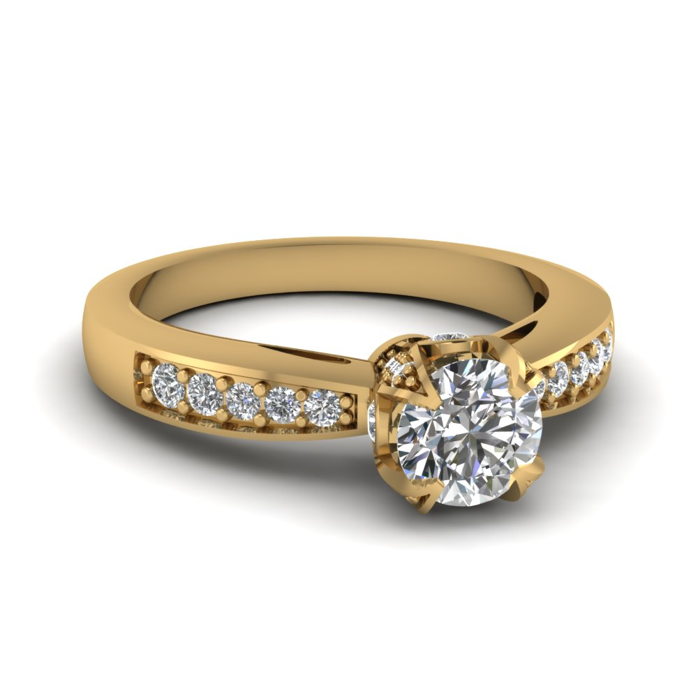15 Latest Designs of Gold Diamond Rings for Him  Her
