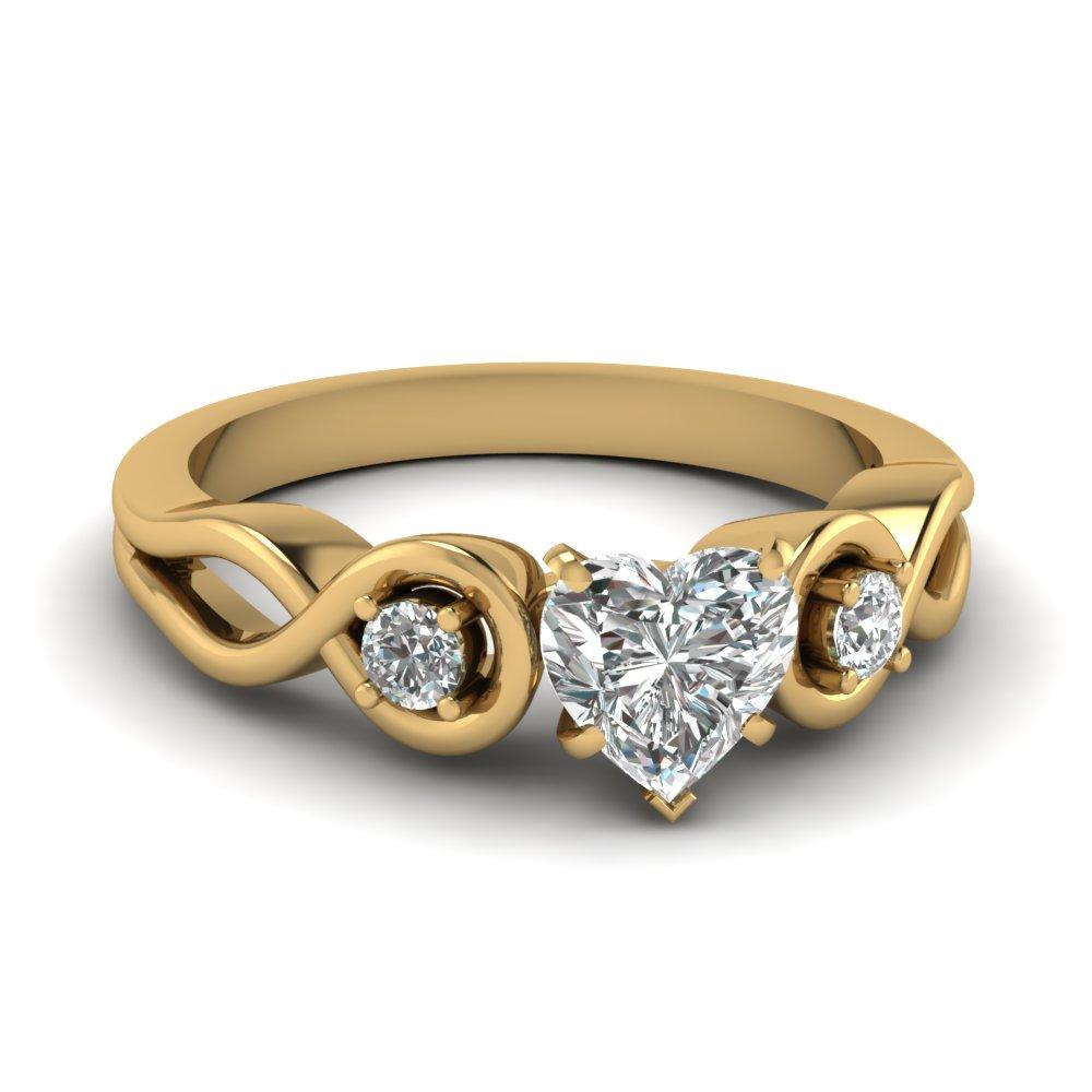 heart diamond engagement ring Gallery