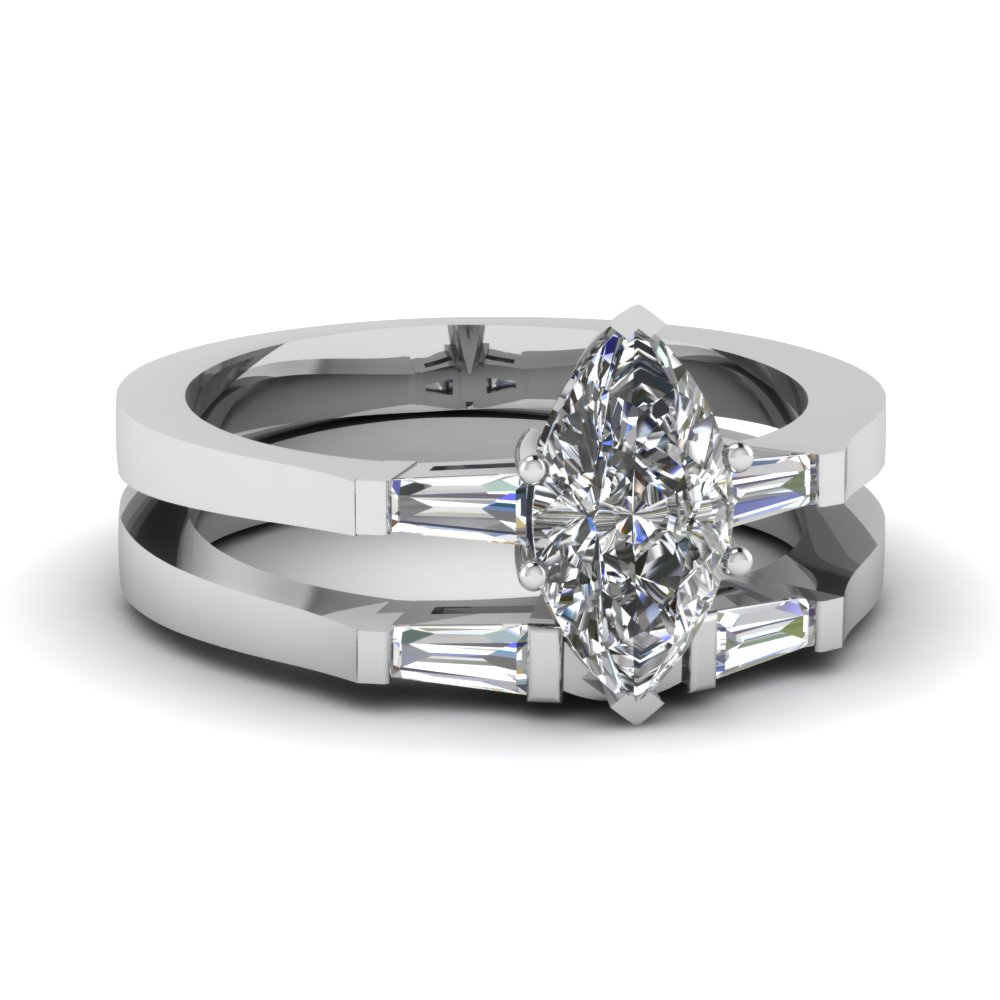 Knife Edge Pave Wedding Band