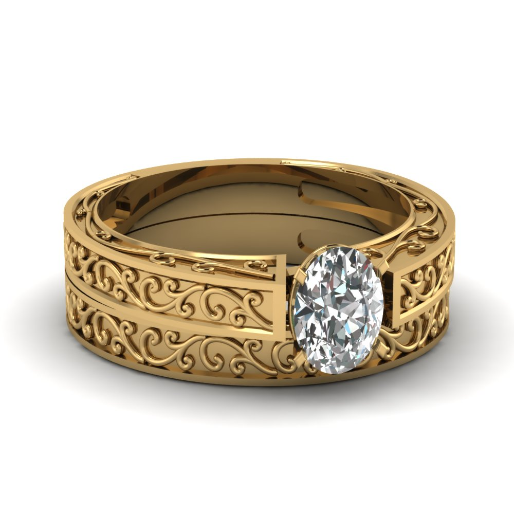 Top Trends Of Filigree Engagement Rings Online