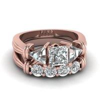 Buy Trendy 14k Rose Gold Engagement Rings Online ...