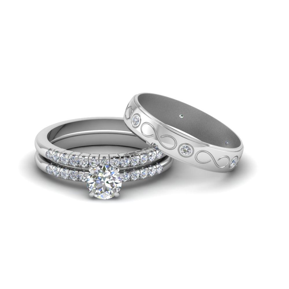 Engagement Rings  Bridal & Trio Wedding Ring Sets