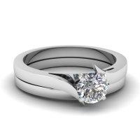 Simple Wedding Rings   Fascinating Diamonds