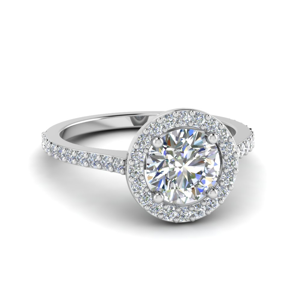 Affordable Halo Engagement Rings  Fascinating Diamonds