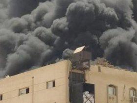 نشوب-حريق-بمصنع-فوم-في-مدينة-العاشر-من-رمضان.-صور