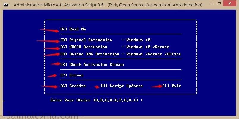 تحميل تفعيل ويندوز 10 وجميع اصدارت الاوفيس - Microsoft Activation