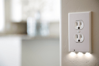 Outlet Covers With Built-In LED Night Lights - Simplemost