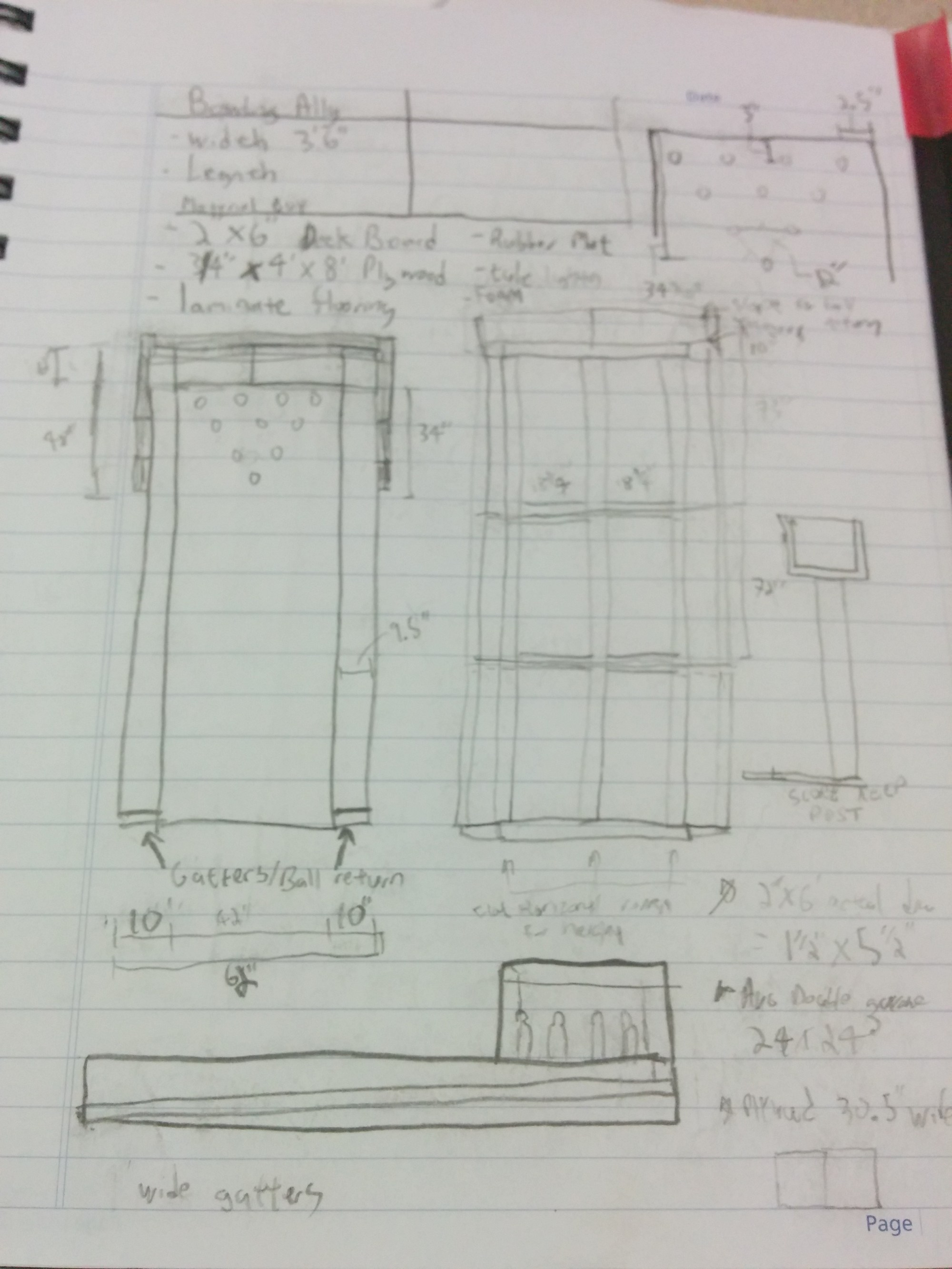 hight resolution of how to build your own backyard bowling alley