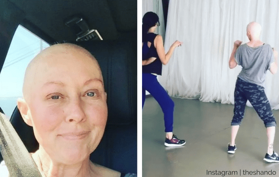 Shannen Doherty Hits The Gym The Day After Chemo Simplemost