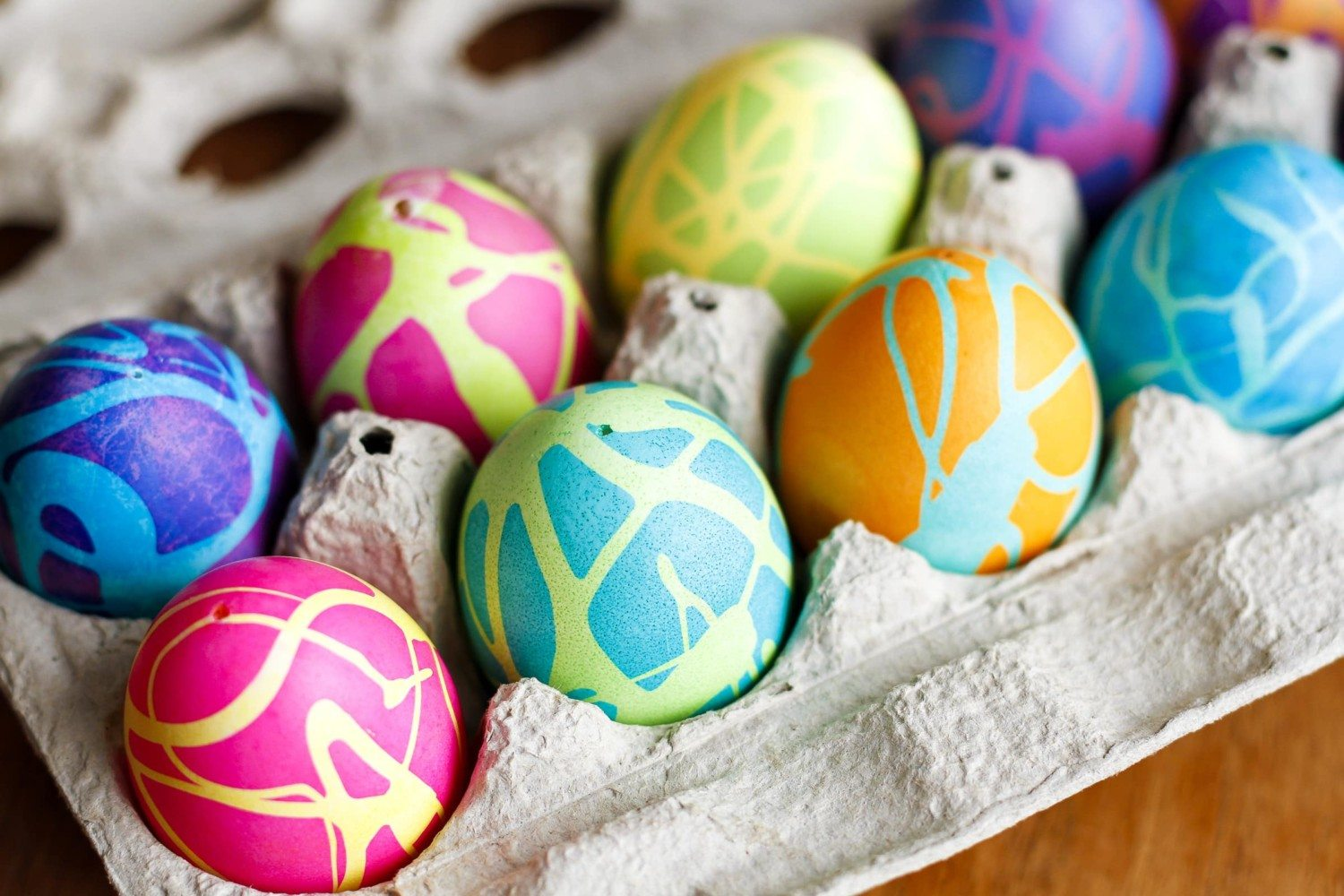 Easter Egg Dyeing Chart Shows Every Color
