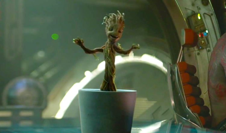 Moving Falling Snow Wallpaper Disney Will Plant A Tree For Every Baby Groot Dance