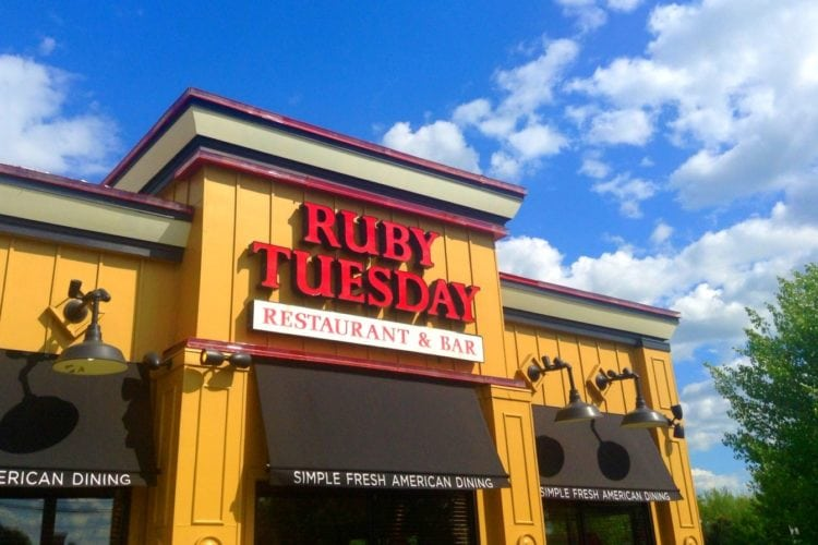 Here's How To Get A Free Meal From Ruby Tuesday - Simplemost