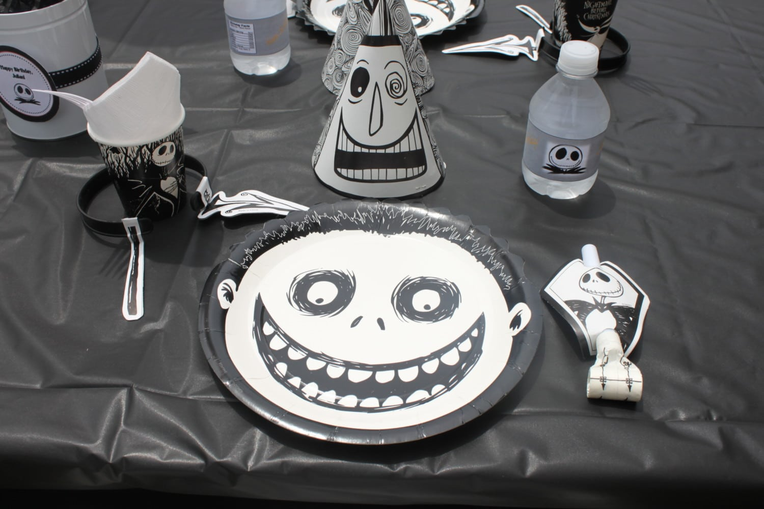 Nightmare Before Christmas Party Decoration Ideas