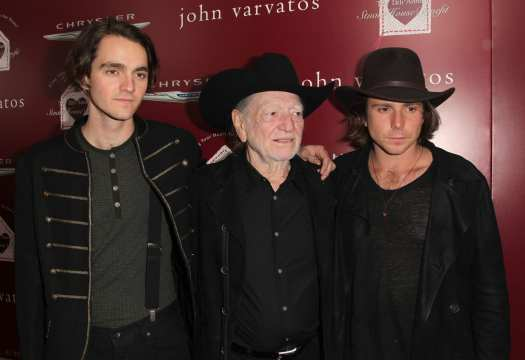 willie nelson family photo