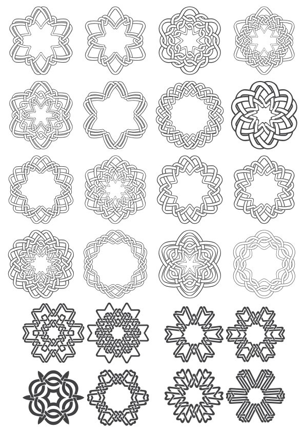 FREE VECTOR & DESIGN TUTORIAL: Islamic Ornament and Frame