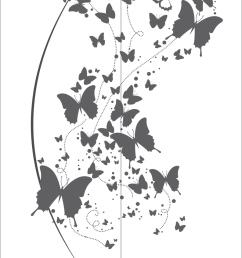 flying butterfly clipart black and white vector free vector [ 793 x 1081 Pixel ]