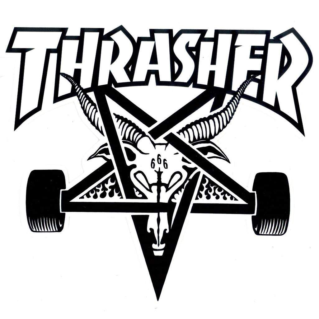 Thrasher Logo Dxf File Free Download