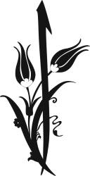 Black And White Flower Clipart Vector jpg Image Free Download 3axis co