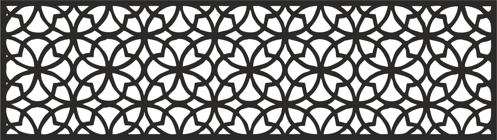 laser cut pattern template