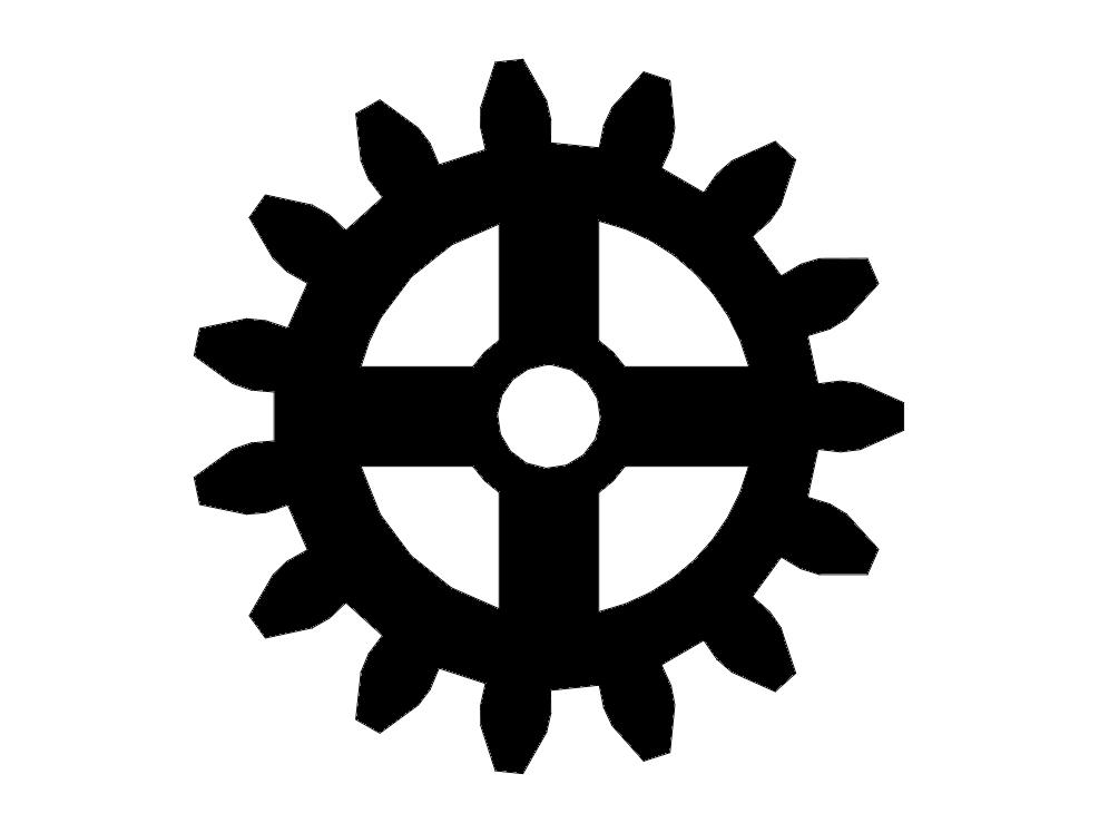 Gear Dxf File Free Download