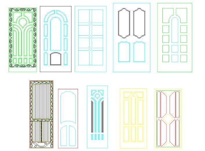 panel doors design free