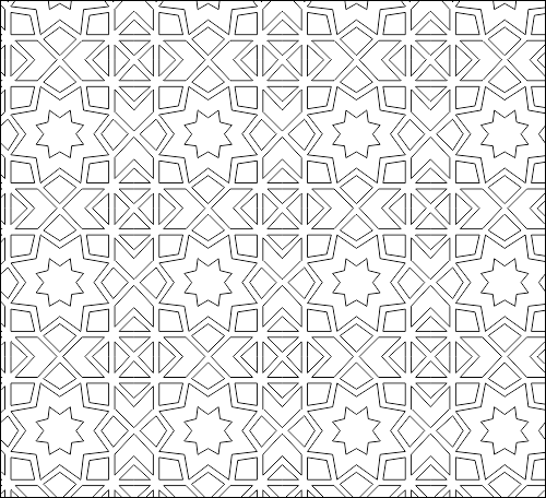 Islamic pattern dwg download