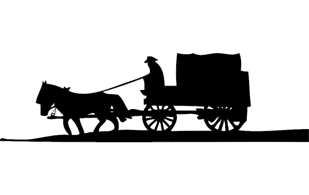 Horse And Buggy dxf File Free Download  3axisco