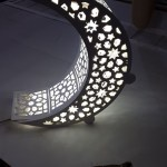 Laser Cut Crescent Moon Night Light Lamp Dxf File Free Download 3axis Co