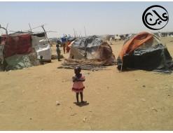 نازحو دارفور ينتقدون صمت المجتمع الدولي حيال سوء الاوضاع الانسانية