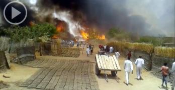 حرائق معسكرات دارفور … اخفاء الادلة ومصادرة الحواكير