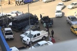 موكب 6 يناير: مطاردات بين الاجهزة الامنية والمتظاهرين بالقرب من القصر الجمهوري