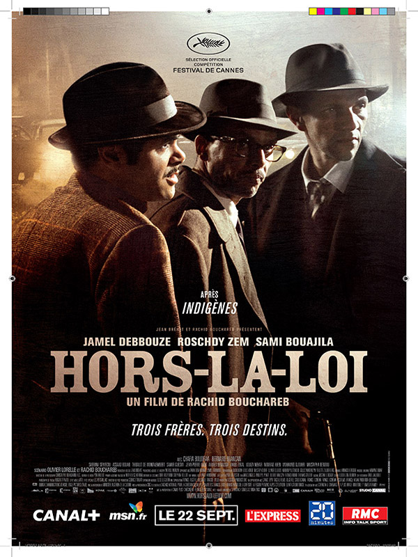 Hors-la-loi 2010 : hors-la-loi, Productions